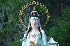 Free Guan Yin Royalty Free Stock Photo - 14384155