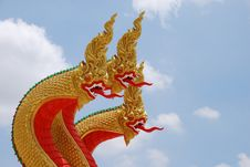 Free King Of  Nagas Stock Photography - 14384202