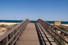 Free The Bridge To Ocean Stock Photos - 14384773