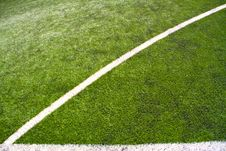 Free Soccer Field Lines Royalty Free Stock Image - 14385166