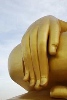 Free Big Hand Of Buddha Image Stock Images - 14385294