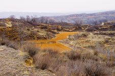 Shanxi Loess Plateau Mountain Royalty Free Stock Photography