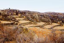 Shanxi Loess Plateau Mountain Royalty Free Stock Photo