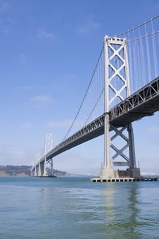 Oakland Bay Bridge, San Francisco Stock Image