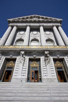 Free City Hall, San Francisco Royalty Free Stock Image - 14386106