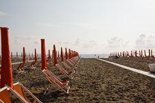 Italy Beach Royalty Free Stock Photography