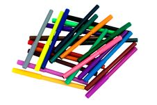 Free Colorful Felt Pens Royalty Free Stock Image - 14387306