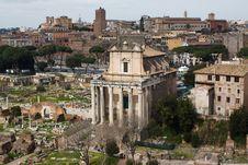 Free Ancient Forum Stock Photo - 14387710