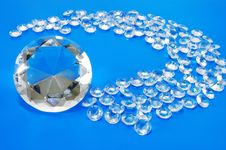 Free White Faceted Stones Stock Image - 14388011