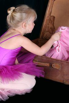 Free Blond Ballerina Stock Image - 14388641