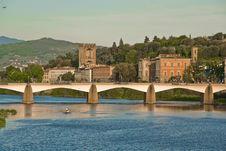 Free Bridge In Florence Royalty Free Stock Photo - 14389195