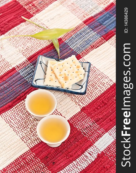 Tea and Crackers