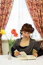 Free Girl Reading A Book Royalty Free Stock Image - 14396086