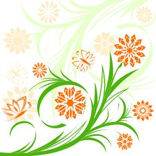 Free Floral Ornament Royalty Free Stock Images - 14390269
