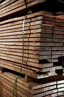 Free Stacks Of Hardwood Stock Photos - 14390423