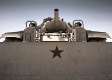 Free Army Bulldozer Royalty Free Stock Photos - 14390608