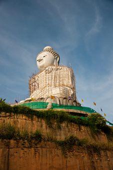 Free Big Budha Royalty Free Stock Photo - 14390685