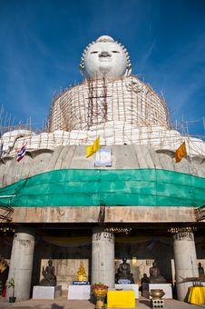 Free Big Budha Royalty Free Stock Image - 14390736