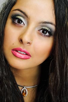 Free Girl With Wonderful Eyes Royalty Free Stock Images - 14390849
