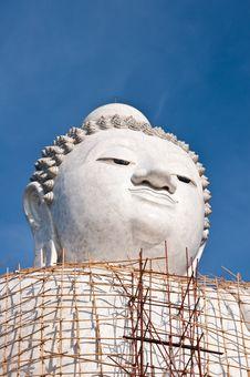 Big Budha Royalty Free Stock Images