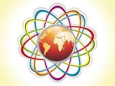 Free Globe Logo Design Royalty Free Stock Photo - 14391075