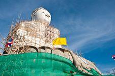 Free Big Budha Royalty Free Stock Image - 14391076