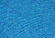 Free Blue Water Royalty Free Stock Photos - 14392088