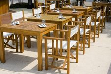 Free Table And Chairs Royalty Free Stock Image - 14392386