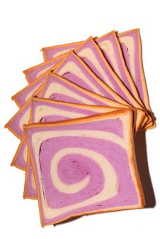Free Purple Pattern Bread Stock Photo - 14392650
