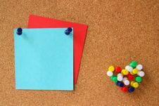 Corkboard Royalty Free Stock Photography