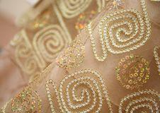 Beaded Fabric Royalty Free Stock Photography