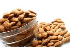 Free Almonds Royalty Free Stock Photos - 14393498