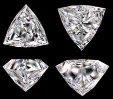 Free Diamond Three Star Royalty Free Stock Photography - 14393867