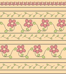 Free Floral Pattern Stock Photography - 14394222