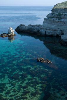 Free The Black Sea Rocky Coastline Stock Photography - 14394242