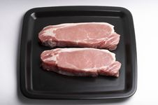 Free Pork Steaks Royalty Free Stock Images - 14394349