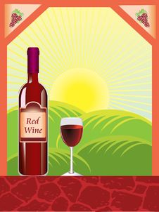 Free Red Wine Royalty Free Stock Photo - 14394585