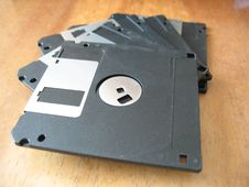 Diskettes Royalty Free Stock Photo