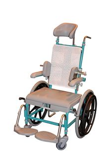Free Manual Wheelchair Stock Image - 14395371