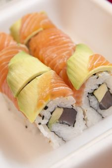 Free Sushi For Take-away Royalty Free Stock Photo - 14395545