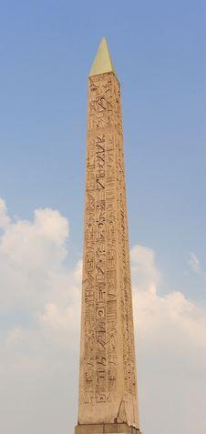 Free Obelisk Of Luxor, Paris Royalty Free Stock Photos - 14395548