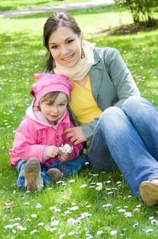 Free Little Girl In Park Stock Photos - 14396583
