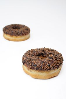 Free Two Donuts Royalty Free Stock Images - 14396899