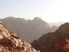 Free Sunrise Over Sinai Mounts Royalty Free Stock Image - 14396906