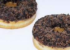 Free Two Donuts Stock Photography - 14396922