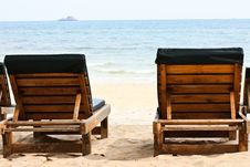 Free Rest Place On The Beach Stock Images - 14398064