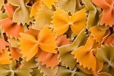 Free Closeup Of Farfalle Pasta Royalty Free Stock Photography - 14398187