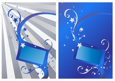 Free Abstract Fresh Blue Banner Stock Photos - 14398373