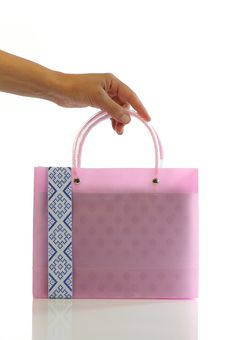 Free Small Pink Bag Stock Photography - 14399112