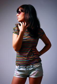 Free Studio Shot Of Beautiful Woman Stock Photo - 14399660